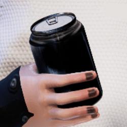 Bottle B in arm