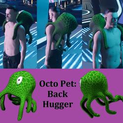 Octo Pet - Back Hugger