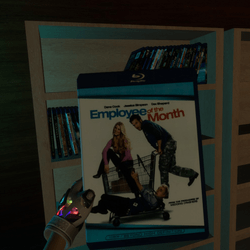 employee of the month bluray case