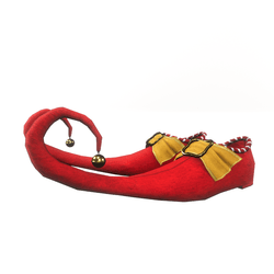 Elf shoes for male avatar II - red
