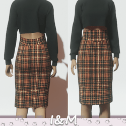 wool pencil skirt 1