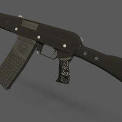 Saiga 20K Replica (Neck Attachment)
