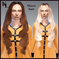 marci - hair (rigged)