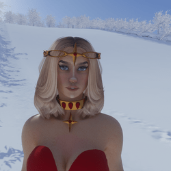 Celestial North Star Tiara 02