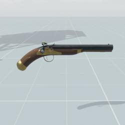Pirate pistol