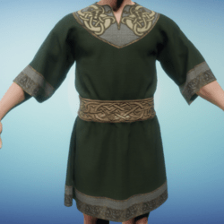Medieval Norse Tunic Green