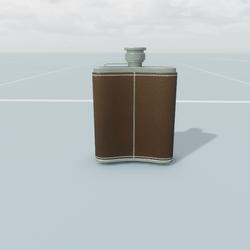 Antique Hip Flask