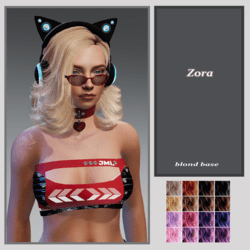 Zora-blond base -fit all avatars
