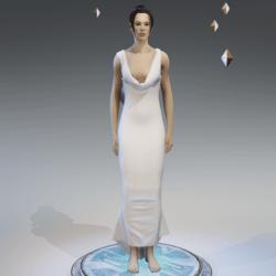 Elegant Dress WHITE
