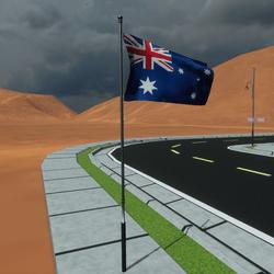 TKA Animated flag Australia