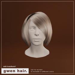 Gwen Hair (F/Headband)