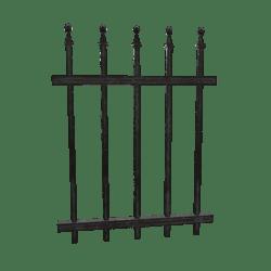 Wrought Iron Fence - 1m