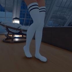 Thigh High Socks (Black)
