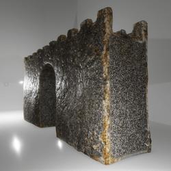 Basic Stone Wall - Gate