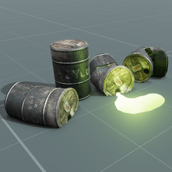 Barrel Set | SOYLENT | Emissive
