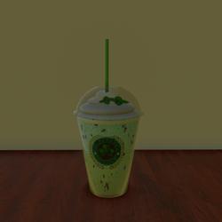 Cloverbucks Mint Frappuccino