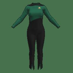 Star Trek - TNG Season 1&2  - Female Officer Uniform (Roleplay Fanwear)