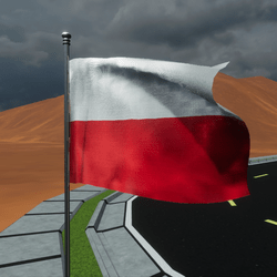 TKA Animate Flag Poland