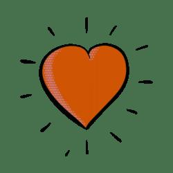 Animated Comic Heart V2