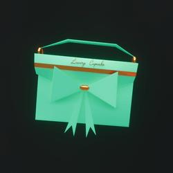 Luxury Cupcake Purse (Teal)