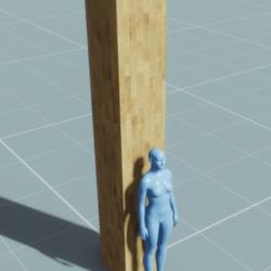 Block - Column (0.5m, 0.5m, 3m)