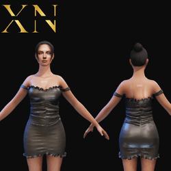 Vestido Curto XN