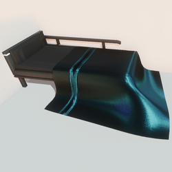Modern bed - bl