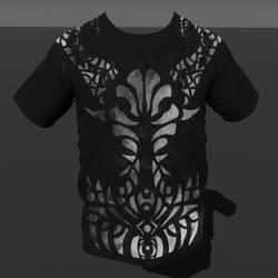 Empowered Demon Smokey (M) T-Shirt (Animated Emissive)