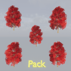 Maple Tree Pack Red