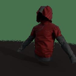 Urban Ninja Jacket (male/red)