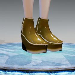 ACpixl Shoes Gold