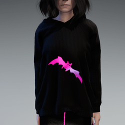 Animated Bat Hoody