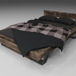 Decorative Wooden Bed