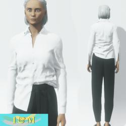 set shirt pants