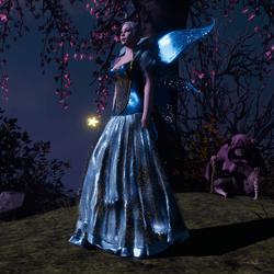 Light Blue Fairy Wings