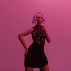 sexy leather dress
