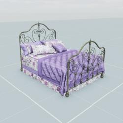Antique Bed  1.2