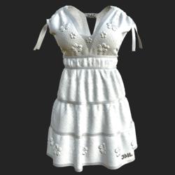 DROMA DRESS WHITE