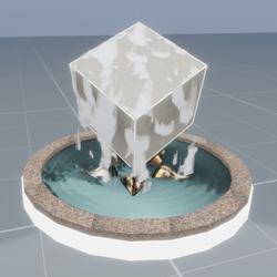 Box if Rain Fountain