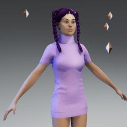 SweaterKnittedMiniDress2