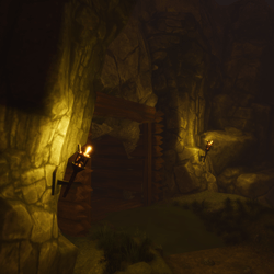 Complete Cave Entrance Set