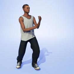 Ska Dance Air Sax (M)
