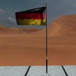 TKA Animate Flag Germany