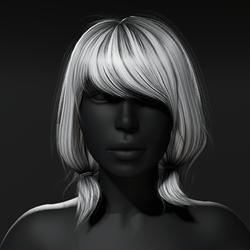 Meg Hair - Gray