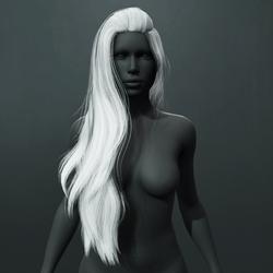Heather Hair - White
