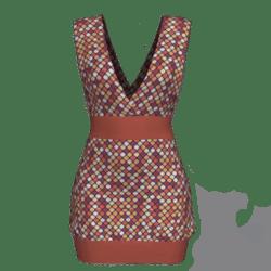 Tube Dress Deep Neck - Marocco