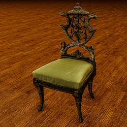 Fancy Pergolosi chair