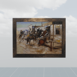 Far west painting