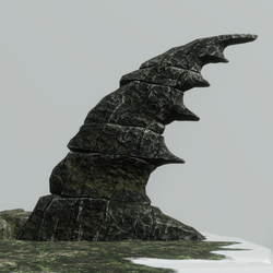 Skye Fantasy Rock Type 2 [Dark stone]