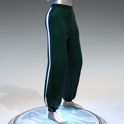 """""""Squid game"""" style sweat pants female"""
